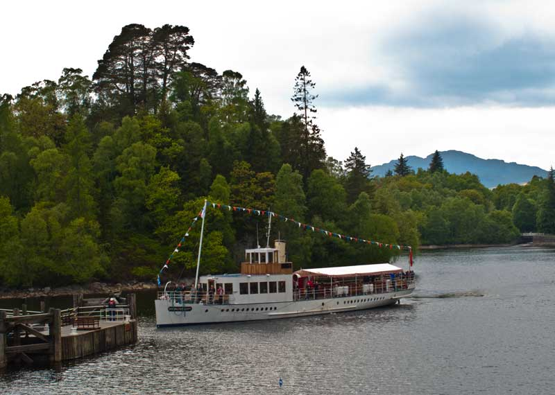Callander is in The Trossachs and Loch Lomond National Park